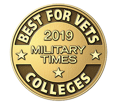 2019 Military Times Best for Vets logo