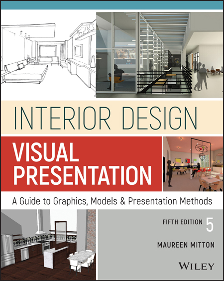 "The cover of ""Interior Design Visual Presentation: A Guide to Graphics, Models and Presentation Methods."""